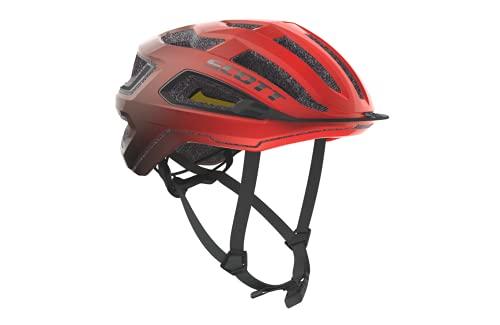 Scott 275192 - Casco de Bicicleta Unisex para Adulto, Color Negro