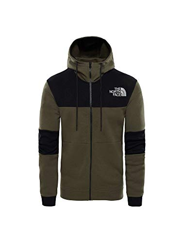 The North Face Sudadera con Cremallera Himalayan New Taupe Verde