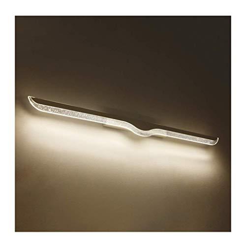 LXYZ Frontspiegelleuchte für Badezimmer, Frontspiegelleuchte für Spiegel, Waschtisch wasserdicht und beschlagfrei mit Acryl-LED-Spiegelscheinwerfern LED-Spiegelleuchte