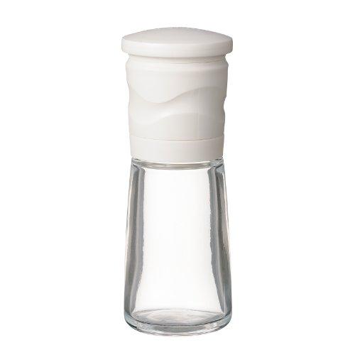 京セラ ミル 90ml セラミック スパイス 結晶塩 粗さ調節 分解洗浄 ホワイト CM-15N-WH