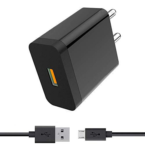 Fast Charger for Micromax Bolt Q381, Micromax Canvas Spark 3, Micromax Canvas 6, Micromax Bharat 2