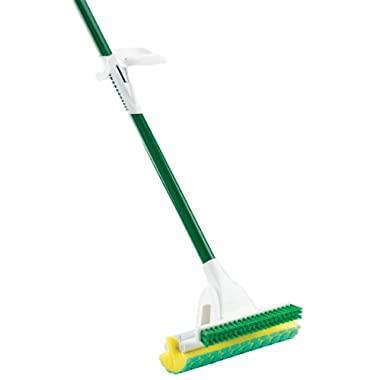 Libman 2010 Nitty Gritty Roller Mop Green Cleaning Pads