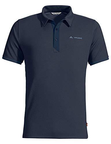 VAUDE Herren T-shirt Men's Roslin Polo Shirt, eclipse, 50, 413247505300