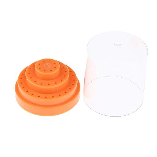 MERIGLARE 48 Trous Professionnel 3/32 Tige En Plastique électrique Clou Foret - Orange