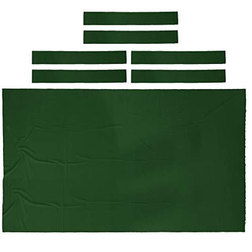 Wool Blend Pool Table Felt Billiard Cloth for Table Cushion Pad 8ft Blue