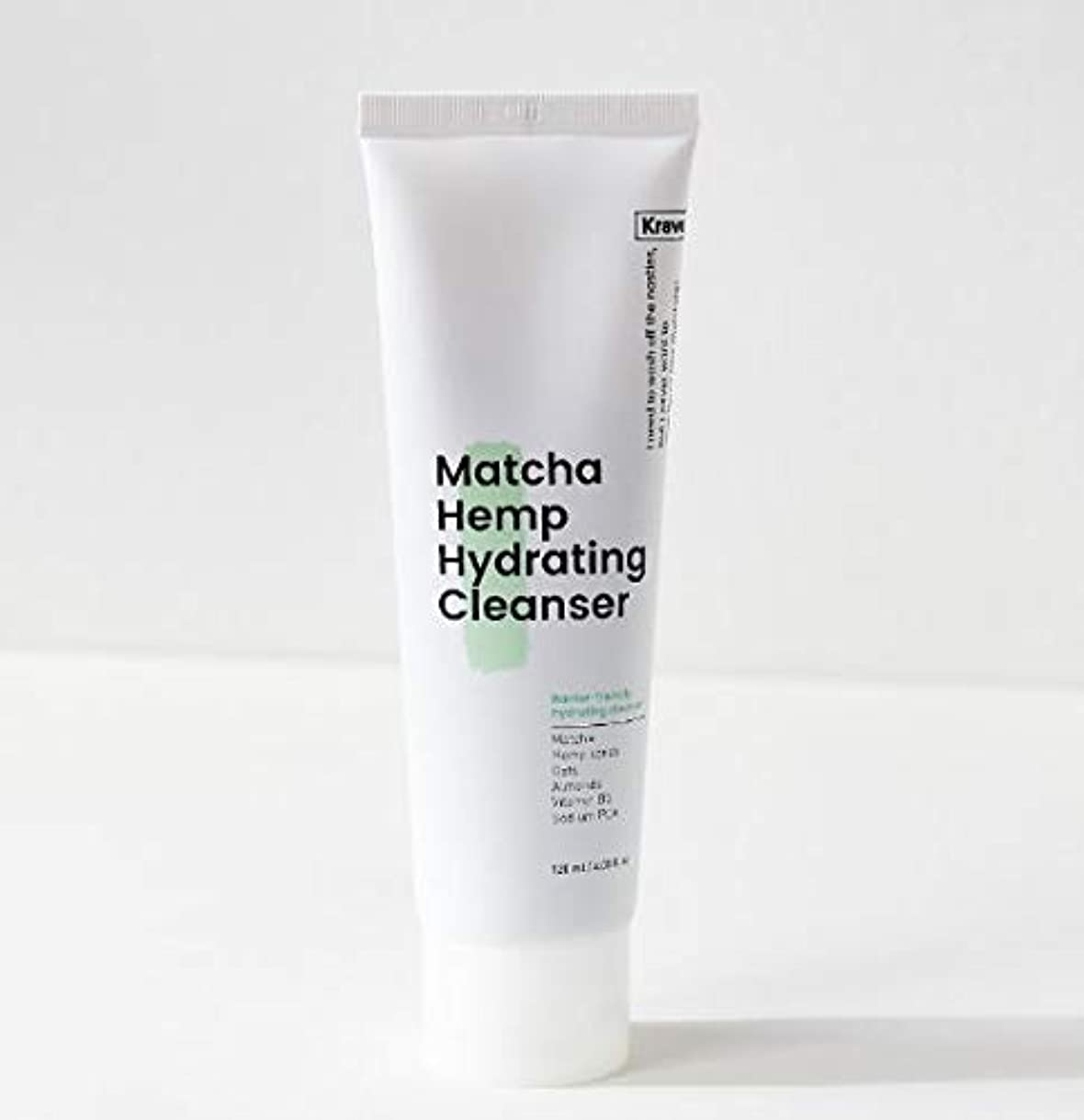 男やもめ愛国的なジュース[Krave] Matcha Hemp Hydrating Cleanser 120ml / 抹茶ハイドレイティングクレンザー120ml [並行輸入品]