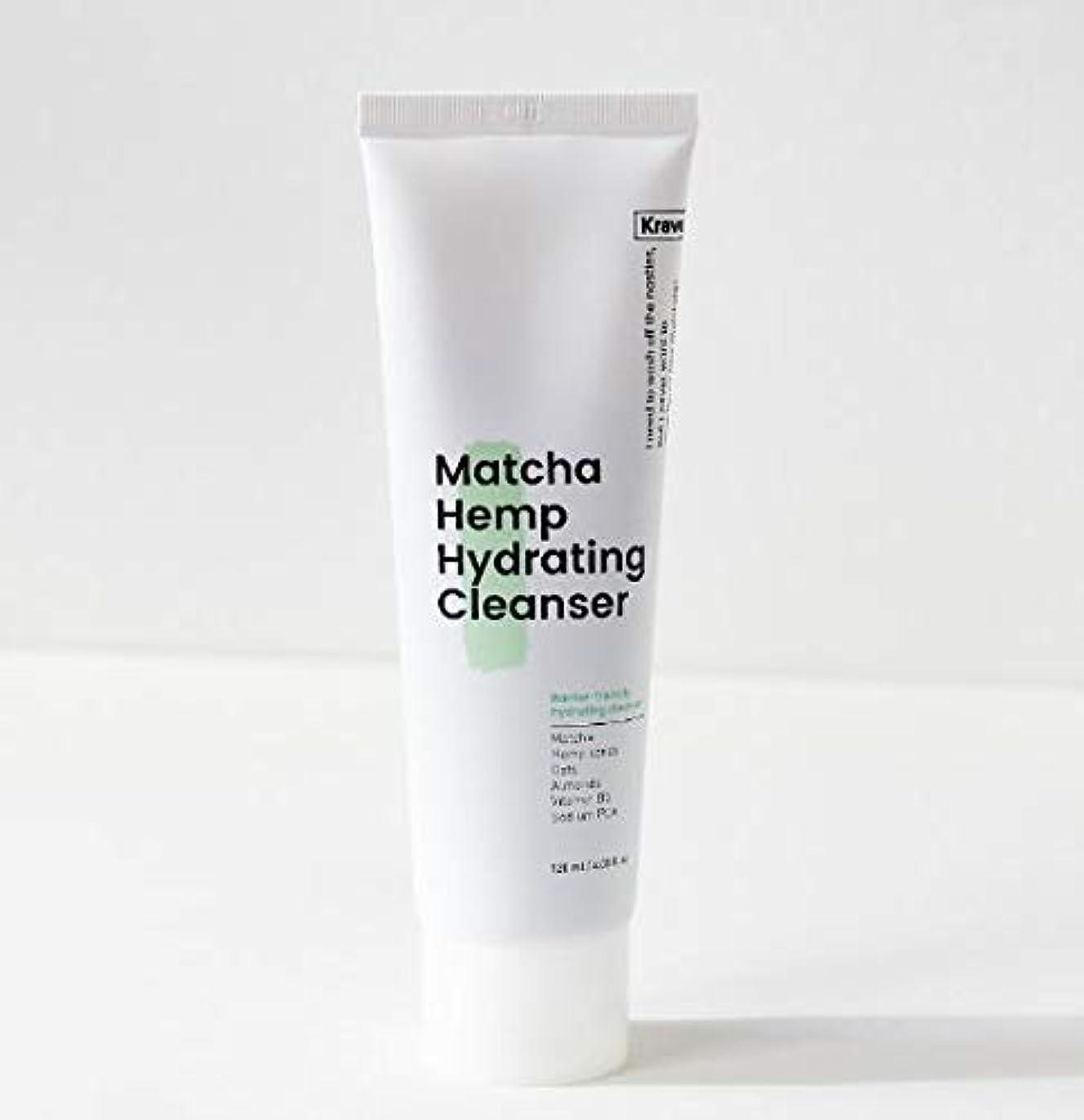 感謝代数サリー[Krave] Matcha Hemp Hydrating Cleanser 120ml / 抹茶ハイドレイティングクレンザー120ml [並行輸入品]