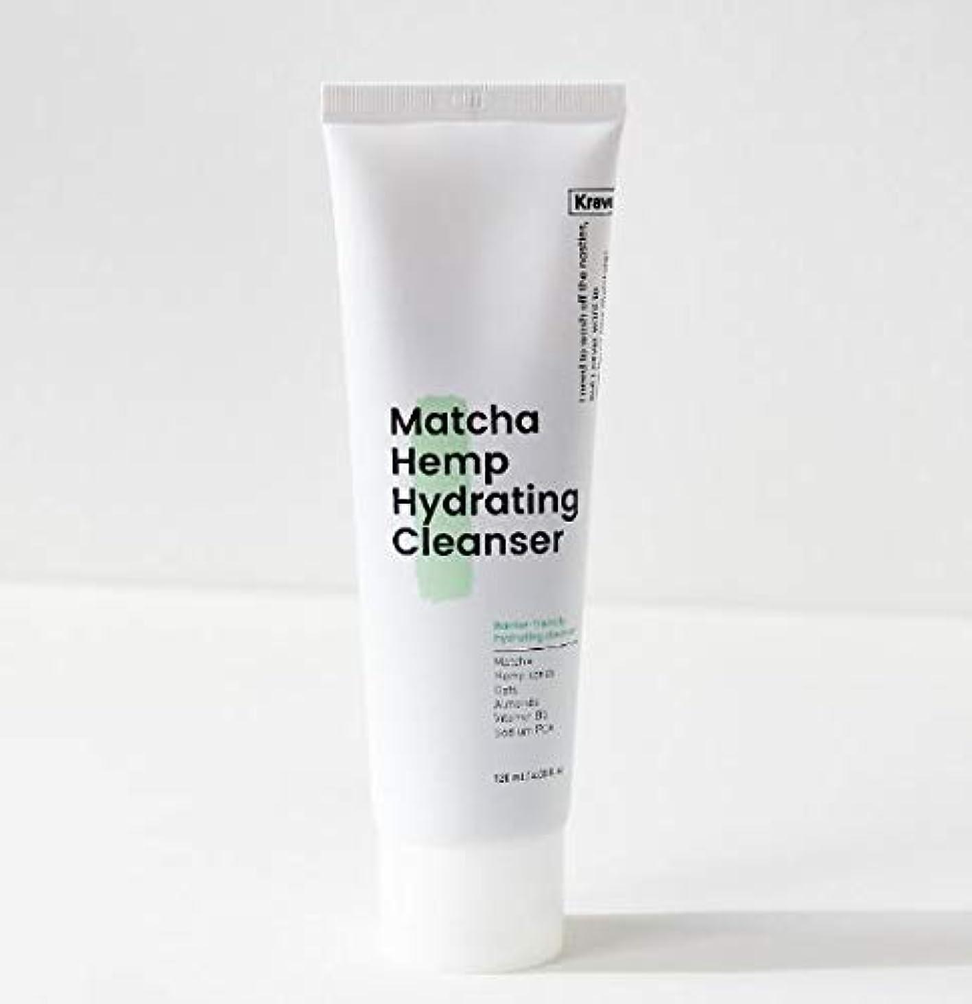 乗算父方のセッション[Krave] Matcha Hemp Hydrating Cleanser 120ml / 抹茶ハイドレイティングクレンザー120ml [並行輸入品]