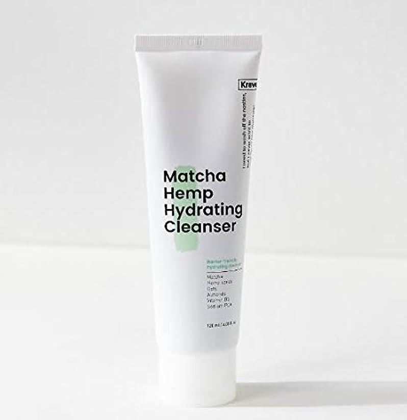 愛撫チャールズキージング連邦[Krave] Matcha Hemp Hydrating Cleanser 120ml / 抹茶ハイドレイティングクレンザー120ml [並行輸入品]