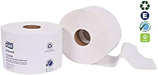 Tork 161990 Universal Bath Tissue Roll with OptiCore, 2-Ply, 3.75