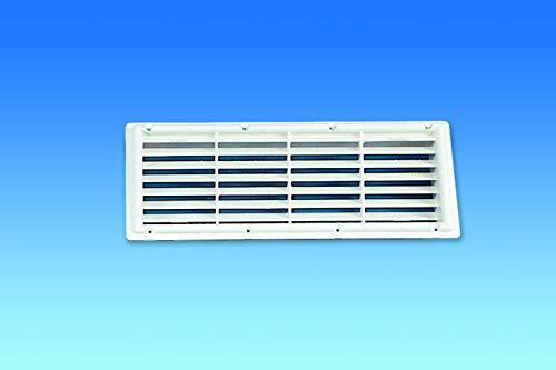 Ventilación blanca para frigorífico 5039.21 W, 364 mm x 139 mm, para caravana y autocaravana