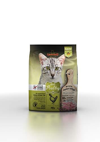Leonardo Adult GF Poultry [300g] Katzenfutter | Getreidefreies Trockenfutter für Katzen | Alleinfuttermittel für Katzenrassen ab 1 Jahr