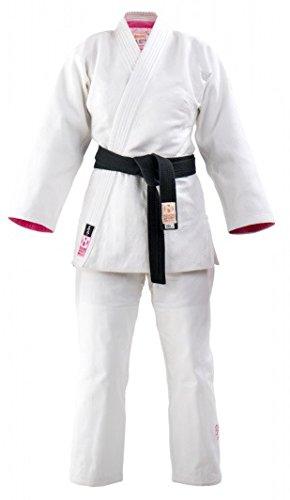 Judogi meiyo Mujer Blanco/Rosa Tamaño 175