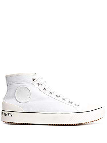 Luxury Fashion | Stella Mccartney Dames 800030N00469001 Wit Katoen Hi Top Sneakers | Lente-zomer 20