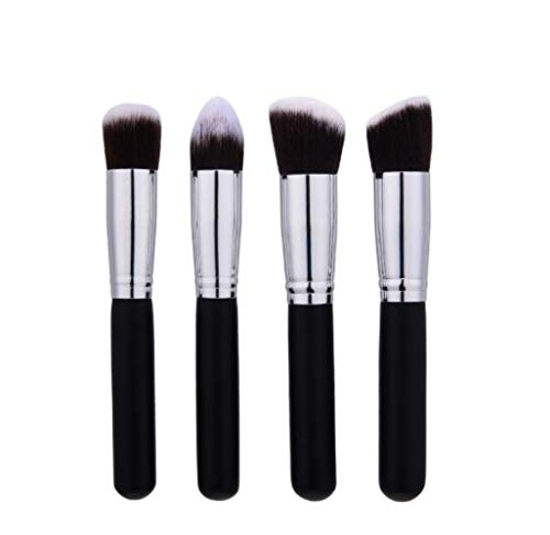 Sgn 10/4/1pcs Makeup Brushes Set Powder Foundation Blush Eye Shadow Cosmetic Make Up Brushes Soft Hair,4pcs 01