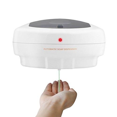 Vingtank 500ml de montaje en pared automático IR movimiento activado jabón dispensador sin contacto cocina jabón loción bomba de la batería para la cocina baño Hospital Hotel