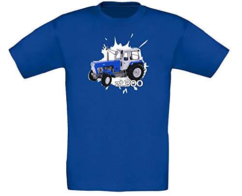 ZT 300 Traktor Landwirt Bauernhof Trecker Kinder Junge Mädchen Shirt T-Shirt (7-8 Jahre)