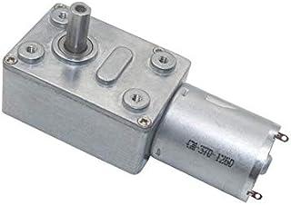 NO-LOGO L-Yune 1PC JGA25-370 DC Motor Geared Motor 6V 12V 24V High Torque Electric Gear Motor 12RPM//25RPM//36RPM//60RPM//130RPM//620RPM//1360RPM Color : 12RPM, Size : 12V
