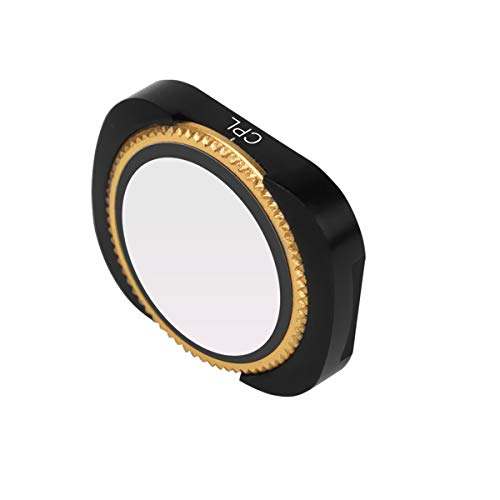 CPL Zirkular-Polarisationsfilter, Aluminium, optisches Glas, verstellbar, JXE für DJI Osmo Pocket 2/Osmo Pocket