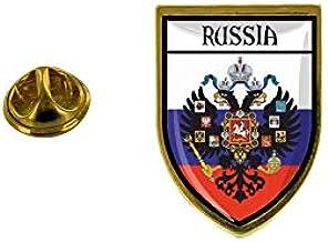 Akachafactory Pin aansteker, stedelijke vlag Rusland, adelaar Rusland