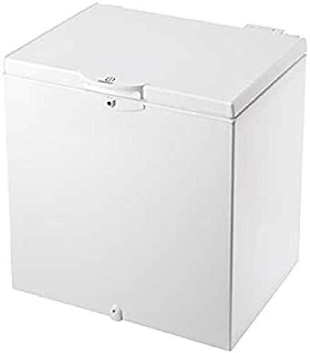 Indesit OS 1A 200 H Independiente Baúl 204L A+ Blanco - Congelador (Baúl, 204 L, 15 kg/24h, SN-T, A+, Blanco)