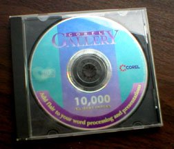 COREL GALLERY - 10,000 Clipart Images on CD