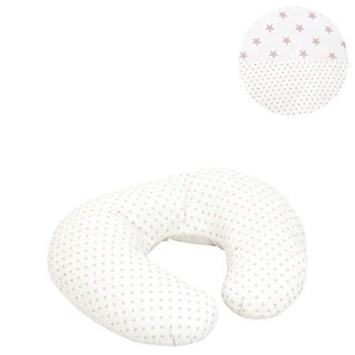 Cambrass Star - Cojín de Lactancia, Color Rosa, 53 x 45 x 10 cm