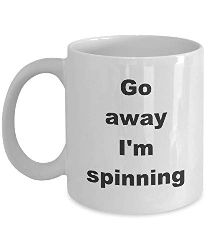 N\A Hand Spinner Coffee Mug Idea de Regalo Divertida para Handspinner Wool Yarn Spinning