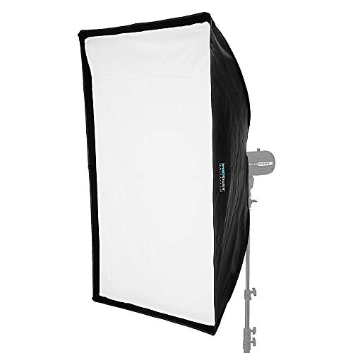 Fotodiox 10SBXBW3248EZ Pro Studio Solutions EZ-Pro Softbox, 32-Inchx48-Inch (32x48 in) with Speedring for Bowens Gemini Standard, Classica Powerpack, R Series, Rx Series and Pro Series Strobe Flash Light, Speed Ring, SoftBox - Black