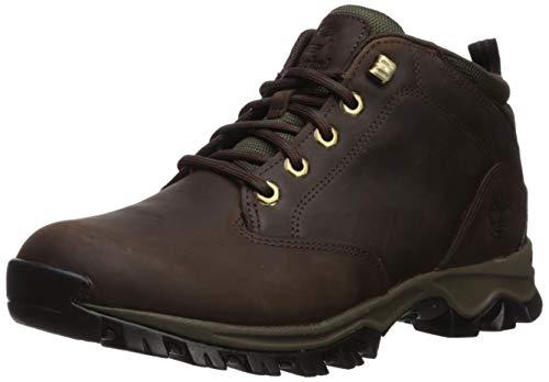 Timberland Men's Mt. Maddsen Waterproof Chukka Boot, Dark Brown Full Grain, 090M M US