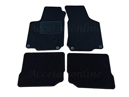Accesorionline Alfombrillas Seat Leon I 1999-2005 MK1 Producto Exclusivo a Medida