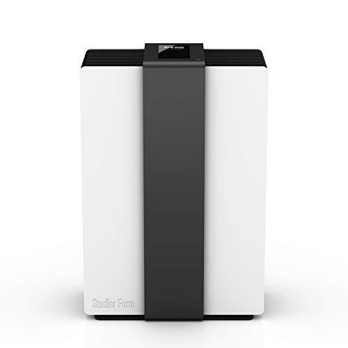 Stadler Form Design Luftwäscher Robert [Luftbefeuchter /-reiniger, Bewegungssensor, 4 Leistungsstufen], weiß/schwarz
