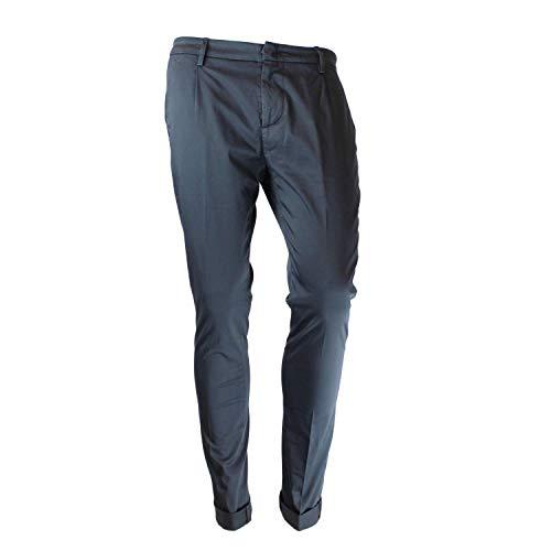 Dondup Pantalone Uomo BLU Gaubert PINCES UP517RSE036PTD Blu 30