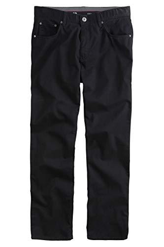 JP 1880 Herren große Größen bis 70, Hose, Komfortbund, Regular Fit, Stretch, Baumwolle, 5-Pocket-Form schwarz 60 702613 10-60