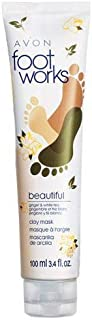 Avon Foot Works Beautiful Ginger and White Tea Clay Mask