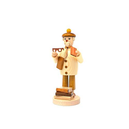 Drechslerei Friedbert Uhlig n. 068 - Abbeveratoio di legno regionale di legno tornito a mano dai Monti Metalliferi, Natale, arte in legno, vero legno