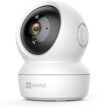 EZVIZ C6N WiFi Indoor Security Camera,1080P HD Pan/Tilt 360° Coverage Night Vision with Two-Way Audio Surveillance Mo...