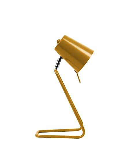 Leitmotiv - Tischlampe Z - Metall - ockergelb - H35 x B16 cm - E14-25W