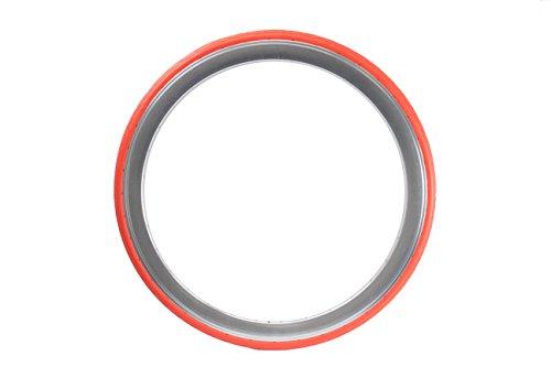 Tannus 700 x 28C Vollgummireifen solid Fixie Singlespeed Reifen Aither 1.1, Farbe:orange
