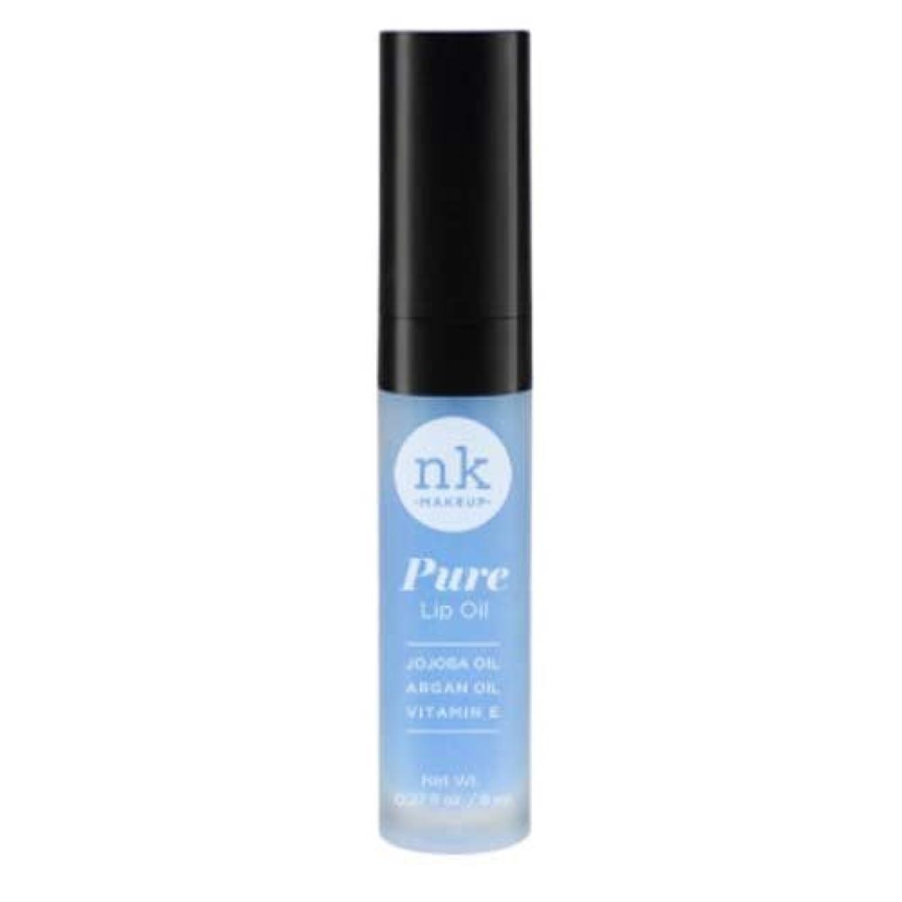 したがって仕事反射(6 Pack) NICKA K Pure Lip Oil - Blueberry (並行輸入品)