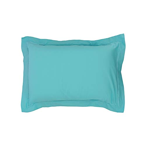 Drap House Taie d'oreiller Satin 50x70 Turquoise - Couleur: Turquoise