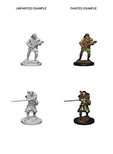 Wizkids Human Male Bard D&D Nolzur's Marvelous Miniatures