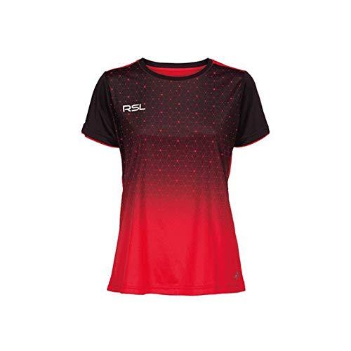 RSL Female Cassini T-Shirt rot - rot/schwarz, L