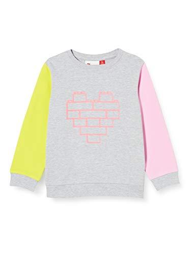 Lego Wear Baby-Mädchen Lwsun Sweatshirt, Mehrfarbig (Grey Melange 912), (Herstellergröße:92)