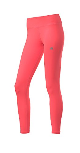 "Adidas - leggins da donna ""TechFit Performance"", rosa neon, S"