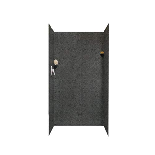 For Sale! Swanstone SK-363672-071 Solid Surface 3 Panel Shower Side and Back Wall, Indian Grass
