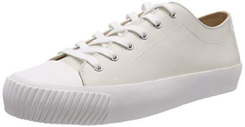 Jil Sander Sporty, Basket Femme, Blanc Bianco 101, 37 EU