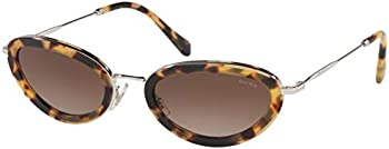 Miu Miu Fashion Women's Oval Sunglasses