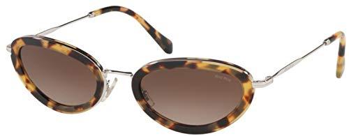 Gafas de Sol Miu Miu RING SMU 58U BLONDE HAVANA/BROWN SHADED mujer