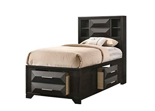 Lane Home Furnishings Bed, Twin, black